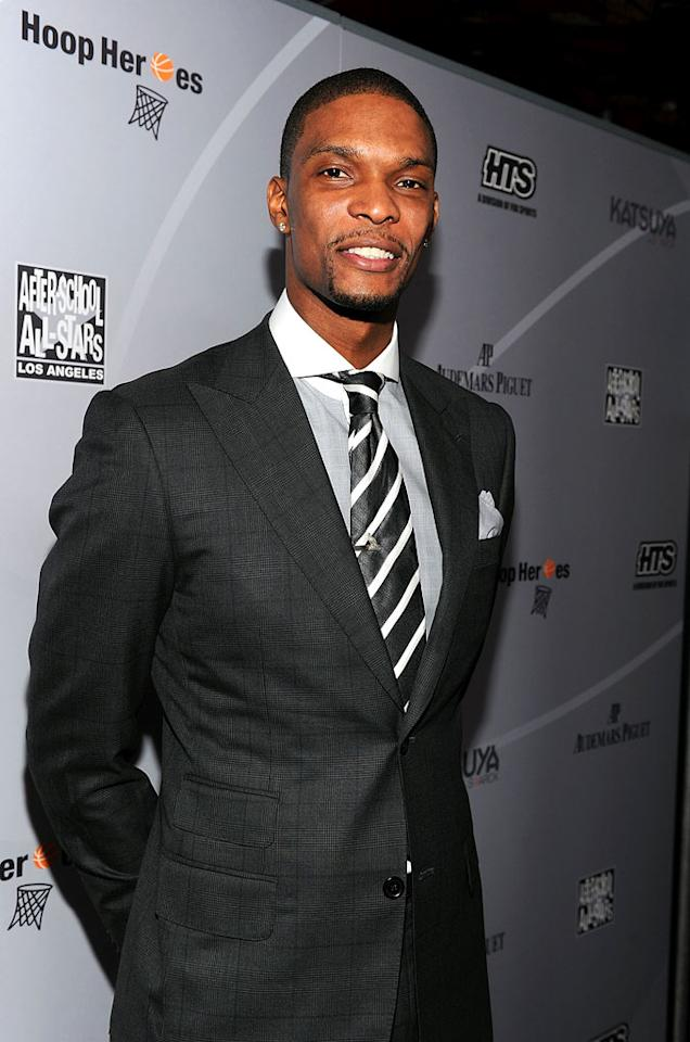 "NBA superstar Chris Bosh of the Miami Heat appears appears as himself in ""Personal Fouls."""