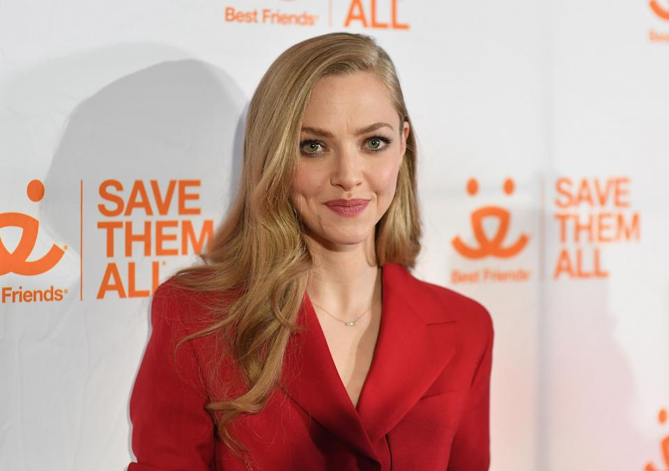 US actress Amanda Seyfried attends Best Friends Animal Society Hosts 4th Annual NYC Benefit To Save Them All at Guastavino's on April 2, 2019 in New York City. (Photo by Angela Weiss / AFP)        (Photo credit should read ANGELA WEISS/AFP via Getty Images)