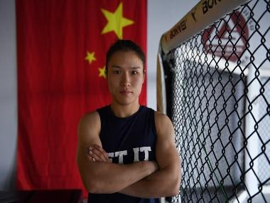 Zhang Weili looks to become China's first UFC World Champion, wants to inspire Asian women to take up mixed martial arts