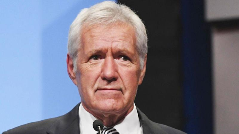 Alex Trebek gets emotional after touching 'Final Jeopardy' answer