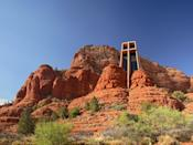 """Conceived by sculptor Marguerite Brunswig Staude in 1932, this passion project in Sedona's red rocks wasn't completed until 1957—but the wait was certainly worth it. The Chapel of the Holy Cross, as its name suggests, is defined by its forward-facing, 90-foot cross that looks over the surrounding <a href=""""https://www.cntraveler.com/story/the-last-minute-no-pressure-family-vacation-phoenix-scottsdale-arizona?mbid=synd_yahoo_rss"""" rel=""""nofollow noopener"""" target=""""_blank"""" data-ylk=""""slk:Arizona"""" class=""""link rapid-noclick-resp"""">Arizona</a> landscape."""