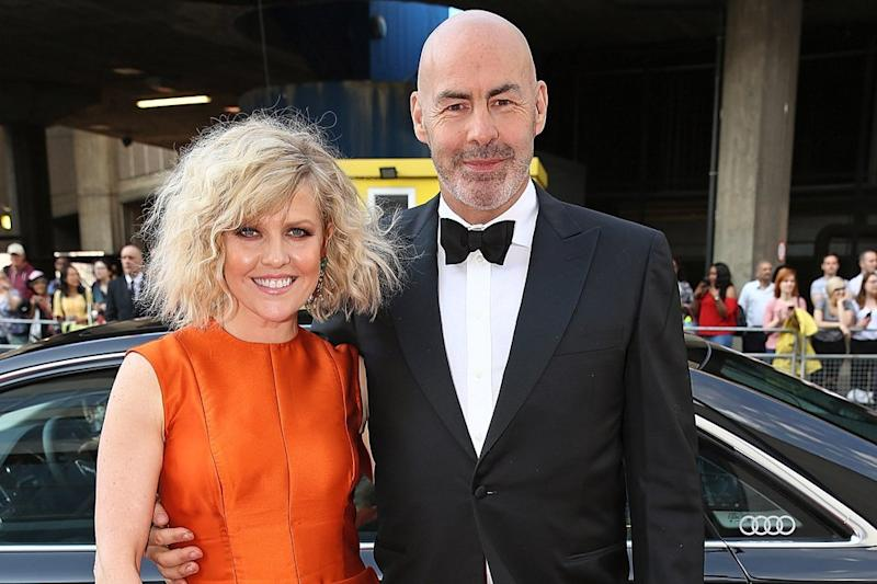 'Shocked': Ashley Jensen's husband's death has been ruled a suicide: Dave Benett