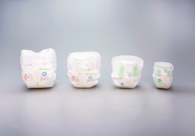 The nappies have been specially designed to offer super premature babies the comfort and support they need [Photo: Huggies]