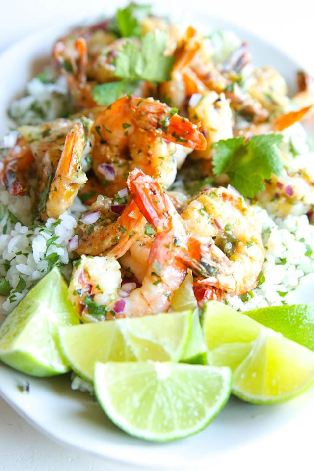 """<p>Watch your back, Chipotle.</p><p>Get the recipe from <a href=""""http://www.delish.com/cooking/recipe-ideas/recipes/a51161/salsa-verde-shrimp-with-cilantro-rice-recipe/"""" rel=""""nofollow noopener"""" target=""""_blank"""" data-ylk=""""slk:Delish"""" class=""""link rapid-noclick-resp"""">Delish</a>.</p>"""
