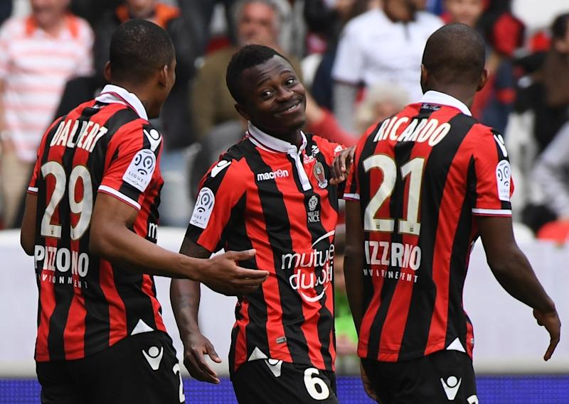 Nice-Nancy: l'OGCN assure le podium et la Ligue des champions