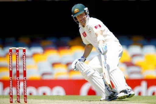 Michael Clarke adds another run against South Africa on day five of their first Test at the Gabba. Clarke was named the man-of-the-match for his third double-century of the year, his unbeaten 259 which turned the match away from the Proteas over the closing two days
