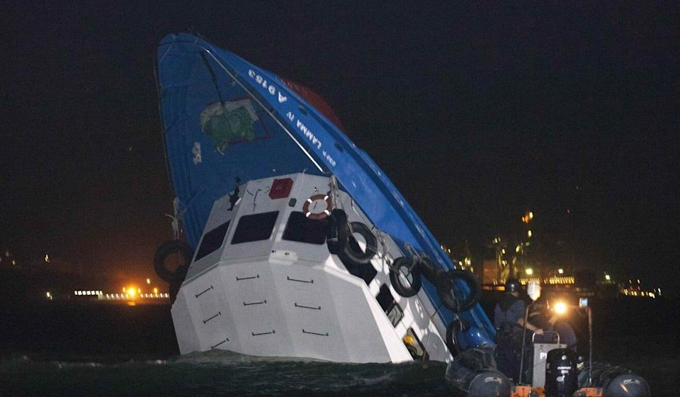 The collision off Lamma Island was the worst maritime disaster in more than 40 years. Photo: Reuters