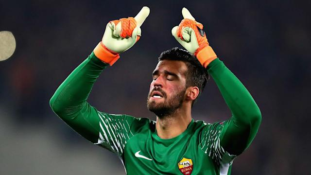 Liverpool made Alisson the world's costliest goalkeeper on Thursday, but he is not going to forget Roma's impact on him in a hurry.