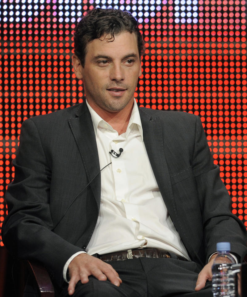 "FILE -- In a July 30, 2010 file photo Skeet Ulrich attends the NBC Universal Television Critics Association summer press tour in Beverly Hills, Calif.  NBC said Wednesday Jan. 12, 2011 that Skeet Ulrich is leaving ""Law & Order: Los Angeles."" (AP Photo/Chris Pizzello)"