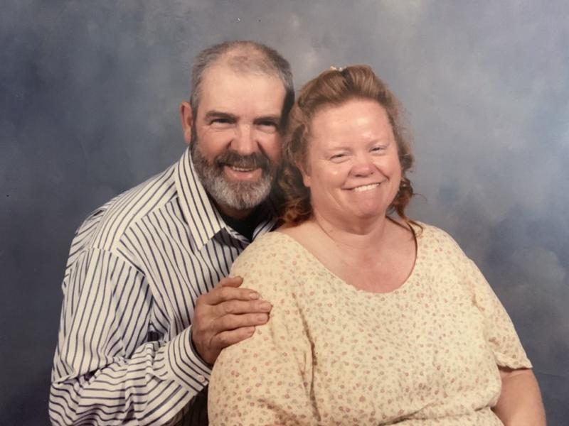 Billy and Barbara Grey of Alderson, West Virginia were married for 45 years before Barbara's death from colon cancer at age 64. (Photo: Courtesy of Sahrah Elswick)