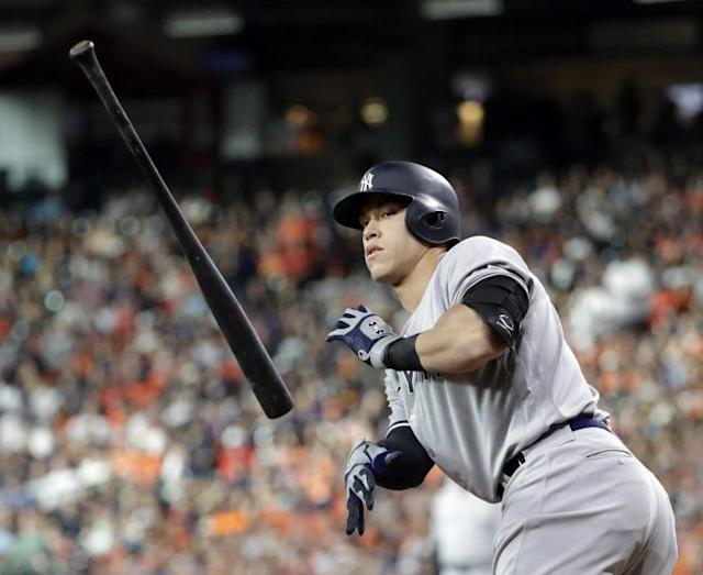 Sometimes the fans get the All-Star voting right, and in the case of Aaron Judge, they did. (AP)
