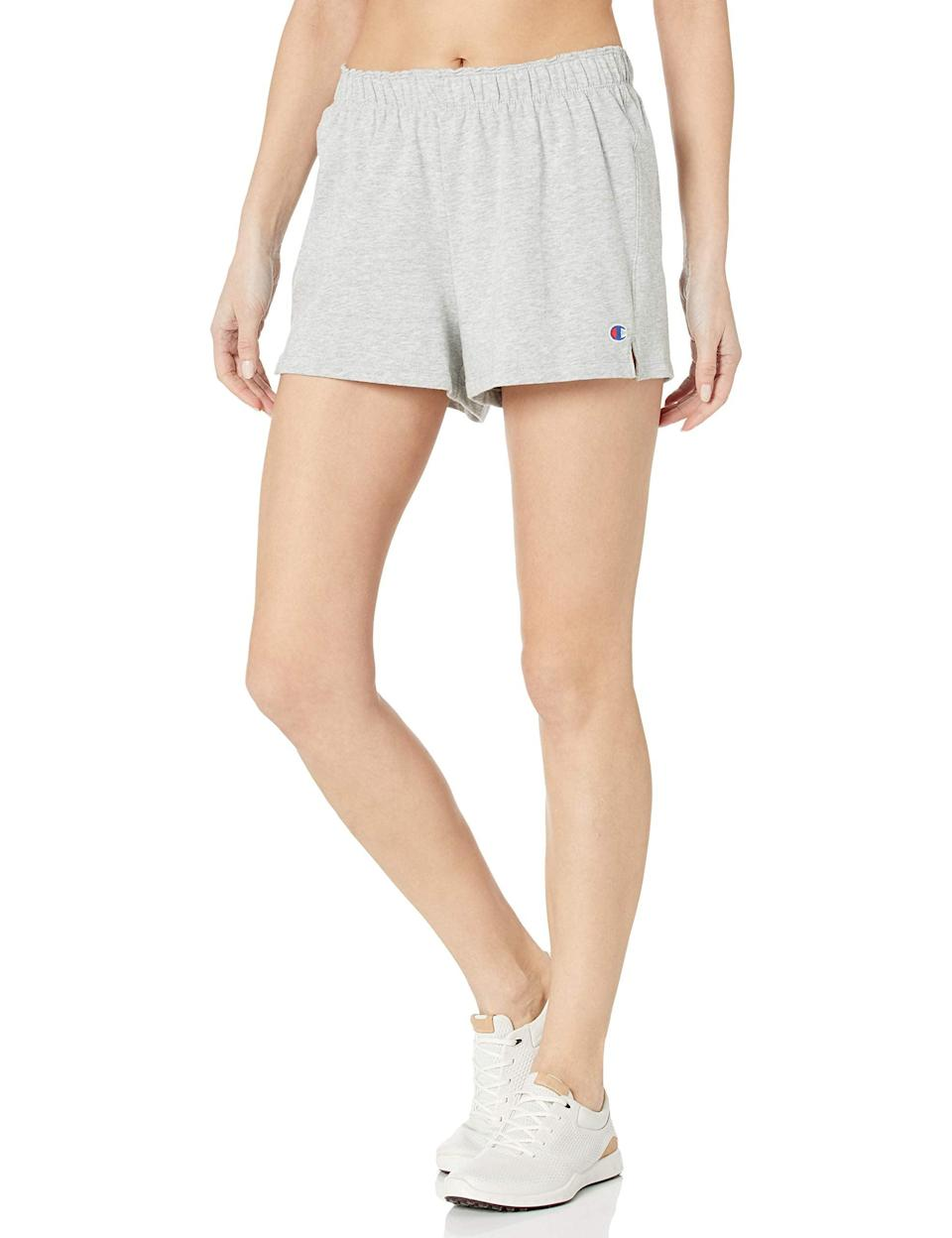 "<br><br><strong>Champion</strong> Women's Practice Short, $, available at <a href=""https://amzn.to/2GRYdfW"" rel=""nofollow noopener"" target=""_blank"" data-ylk=""slk:Amazon"" class=""link rapid-noclick-resp"">Amazon</a>"