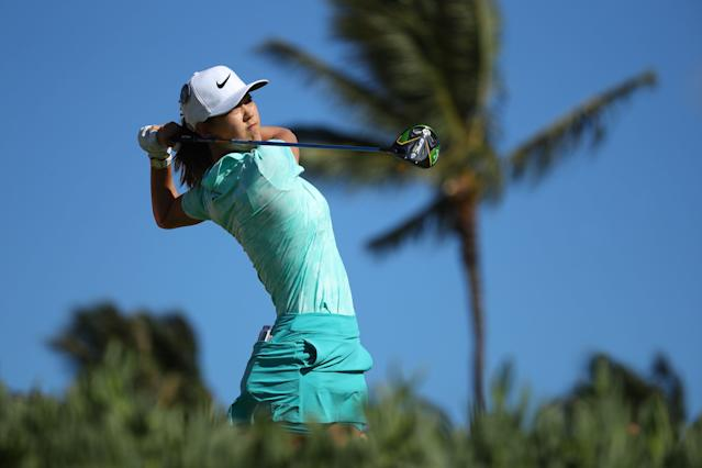 "Due to a lingering injury in her right wrist, <a class=""link rapid-noclick-resp"" href=""/golf/lpga/players/Michelle+Wie/4963"" data-ylk=""slk:Michelle Wie"">Michelle Wie</a> will not compete at the U.S. Women's Open next week in South Carolina. (Gregory Shamus/Getty Images)"