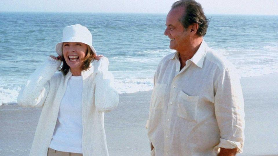 """<p>Harry Sanborn (Jack Nicholson) is 63-years-old, and tends to date women half his age. Then he meets Erica (Diane Keaton), the mother of his current girlfriend (Amanda Peet), and begins to have feelings for her. Let <em>Something's Gotta Give </em>kick off your Nancy Meyers marathon, and feast on clever dialogue and gorgeous kitchens. </p><p><a class=""""link rapid-noclick-resp"""" href=""""https://www.netflix.com/title/60031278"""" rel=""""nofollow noopener"""" target=""""_blank"""" data-ylk=""""slk:Watch Now"""">Watch Now</a></p>"""