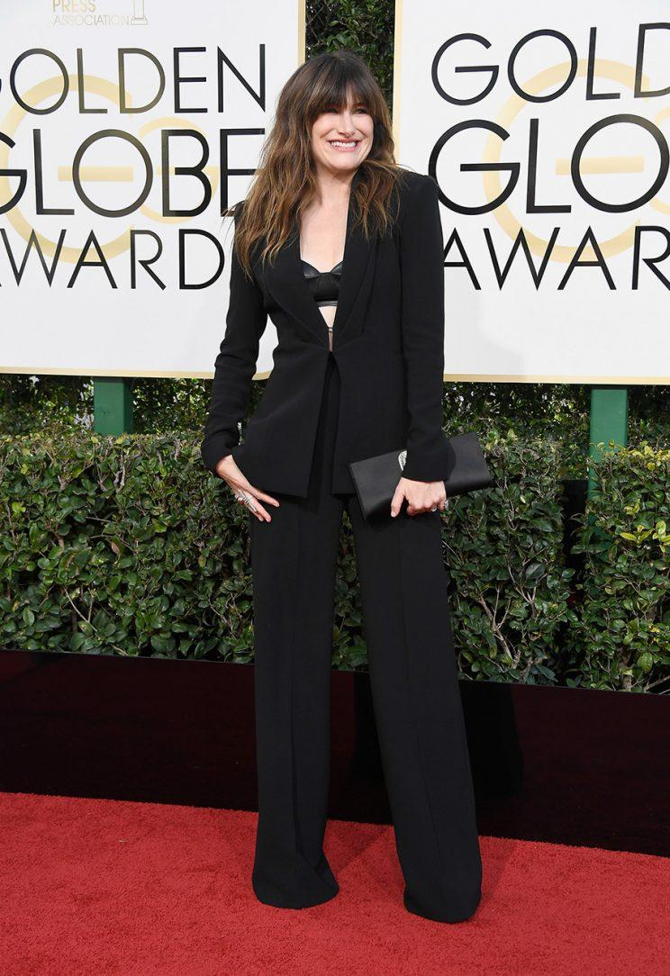 BEVERLY HILLS, CA - JANUARY 08: Actress Kathryn Hahn attends the 74th Annual Golden Globe Awards at The Beverly Hilton Hotel on January 8, 2017 in Beverly Hills, California. (Photo by Frazer Harrison/Getty Images)
