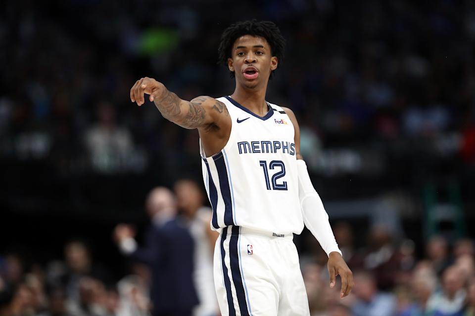 Ja Morant is a problem for everyone, including the Lakers. (Ronald Martinez/Getty Images)