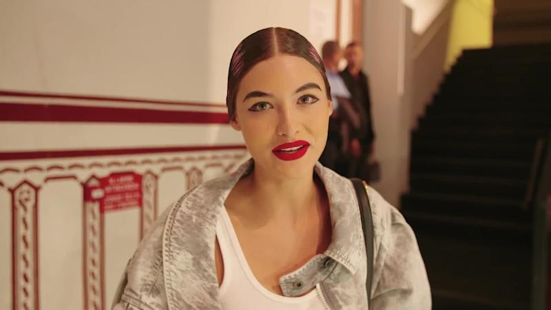 From Morning Meditation to the Moschino Runway: Watch Grace Elizabeth's Preshow Routine
