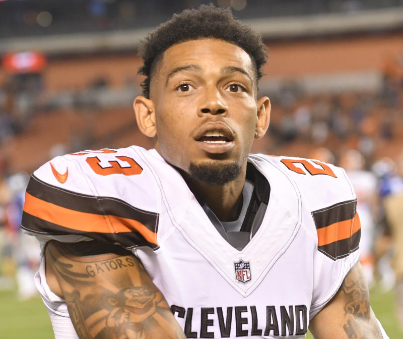 Former Cleveland Browns cornerback Joe Haden agreed to a contract with the Steelers. (AP)