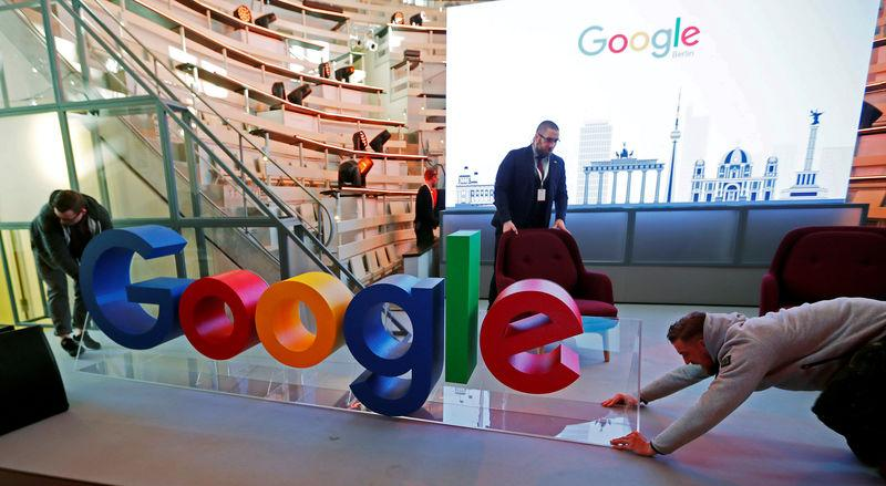 FILE PHOTO: Opening of the new Alphabet's Google Berlin office