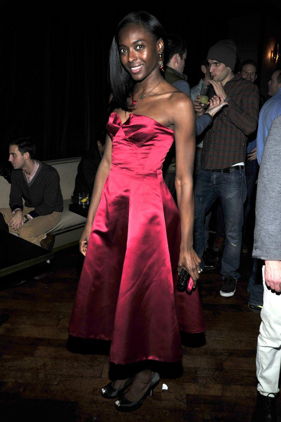 """<p>The American-born Princess Keisha Omilana of Nigeria met her husband, Prince Adekunle """"Kunle"""" Adebayo Omilana, on her way to a model casting in New York City. The Princess has continued to model after becoming royalty.</p>"""