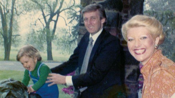PHOTO: Ivana Trump shares a family photo featuring Don Jr., Donald Trump, herself (from left to right) at the Winged Foot Golf Club in Mamaroneck, New York, in 1978. (Ivana Trump )