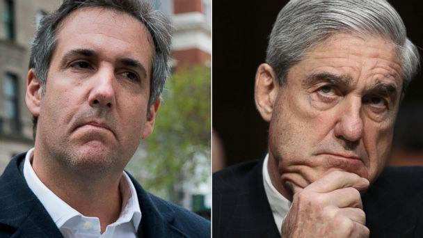 PHOTO: Attorney Michael Cohen, left, and special council Robert Mueller, right. (AP/Getty Images, FILE)