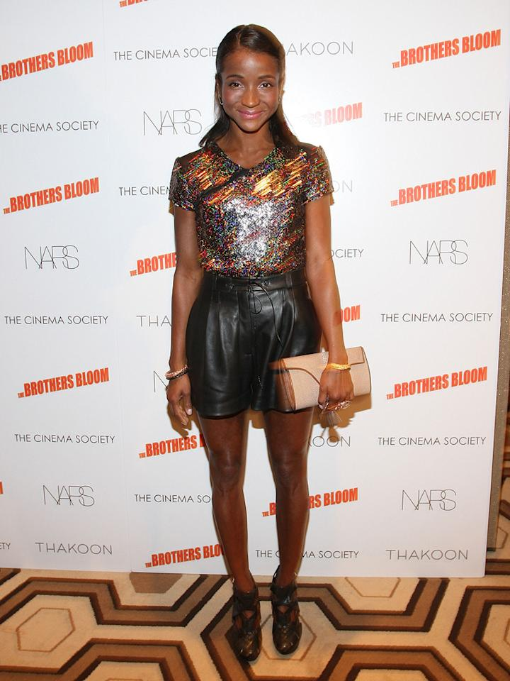 """Genevieve Jones at the New York screening of <a href=""""http://movies.yahoo.com/movie/1809843292/info"""">The Brothers Bloom</a> - 05/07/2009"""