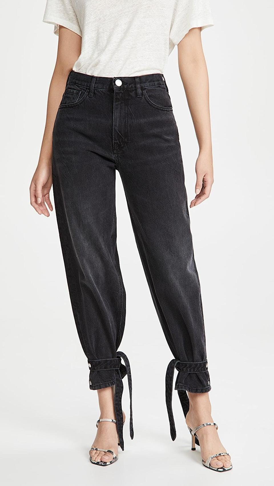 <p><span>One by Pinko Maddie Jeans</span> ($275)</p>