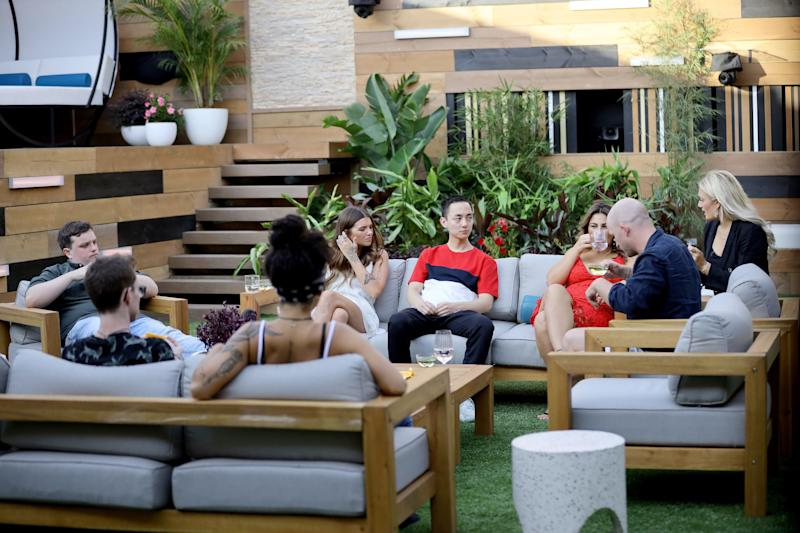 Housemates in the 2020 'Big Brother Australia' house (Photo: NIGEL WRIGHT via Channel 7)