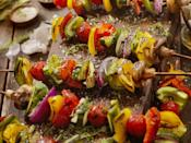 """<p>There are plenty of indulgent <a href=""""https://www.thedailymeal.com/entertain/ultimate-bbq-vegetarians-slideshow?referrer=yahoo&category=beauty_food&include_utm=1&utm_medium=referral&utm_source=yahoo&utm_campaign=feed"""" rel=""""nofollow noopener"""" target=""""_blank"""" data-ylk=""""slk:vegetarian grilling"""" class=""""link rapid-noclick-resp"""">vegetarian grilling</a> options, so the right tools are necessary. This <a href=""""https://www.amazon.com/Vegetable-Nonstick-Grilling-Accessory-Cookware/dp/B07G32CMXG/?referrer=yahoo&category=beauty_food&include_utm=1&utm_medium=referral&utm_source=yahoo&utm_campaign=feed"""" rel=""""nofollow noopener"""" target=""""_blank"""" data-ylk=""""slk:vegetable grilling pan"""" class=""""link rapid-noclick-resp"""">vegetable grilling pan</a> will take away the risk—and fear— of pieces of charred eggplant or zucchini falling through the grill grates.</p>"""