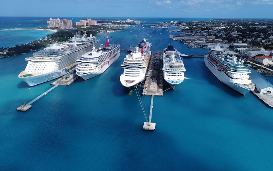 It's been almost six months since cruise ships last embarked with passengers - DANIEL PIRAINO