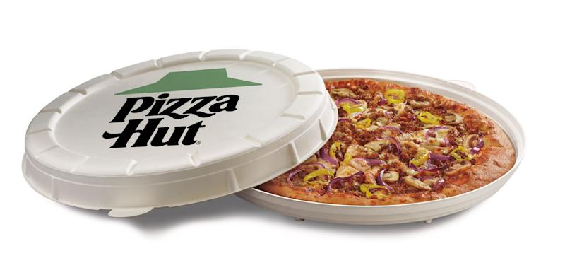 Pizza Hut's Garden Specialty Pizza (Courtesy of Pizza Hut)