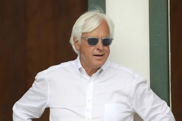 "Famed horse racing trainer Bob Baffert will not face a complaint related to Triple Crown winner Justify's failed drug test from the Santa Anita Derby. <span class=""copyright"">(Gregory Payan / Associated Press)</span>"