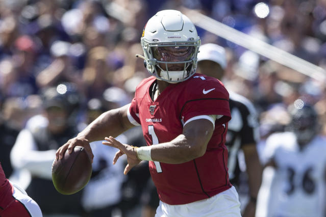 The Kyler Murray explosion is coming. Mandatory Credit: Tommy Gilligan-USA TODAY Sports