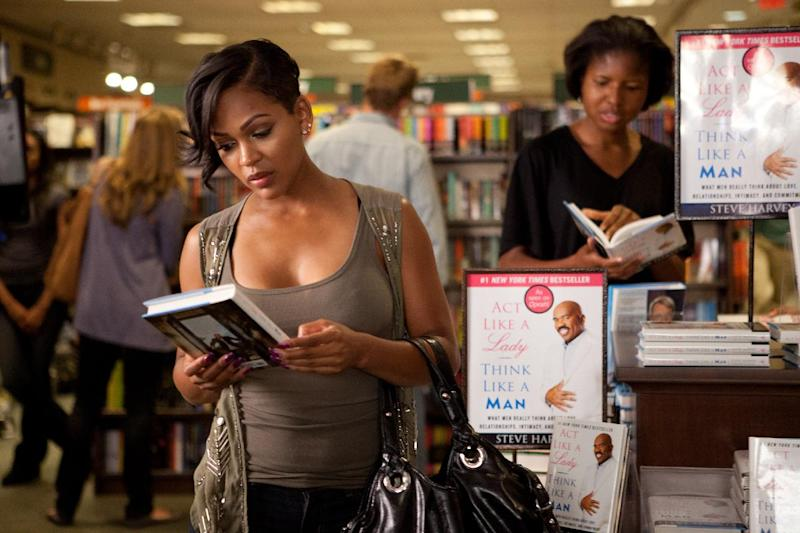 """In this film image released by Sony Pictures - Screen Gems, Meagan Good is shown in a scene from """"Think Like a Man."""" (AP Photo/Sony Pictures-Screen Gems, Alan Markfield)"""