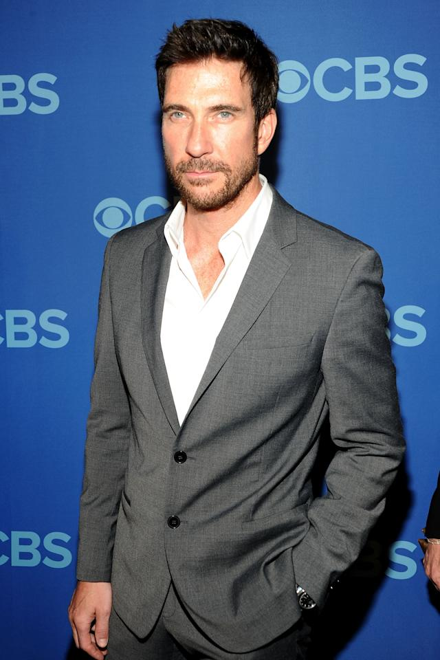 NEW YORK, NY - MAY 15: Dylan McDermott attends CBS 2013 Upfront Presentation at The Tent at Lincoln Center on May 15, 2013 in New York City.  (Photo by Ben Gabbe/Getty Images)