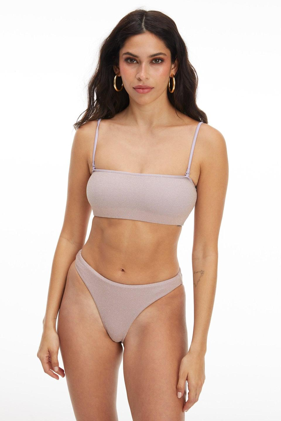 <p>If you're looking for a classic bikini, you're going to love the <span>Good Waist Cheeky Bottom</span> ($49) and <span>Better Band Top</span> ($49).</p>