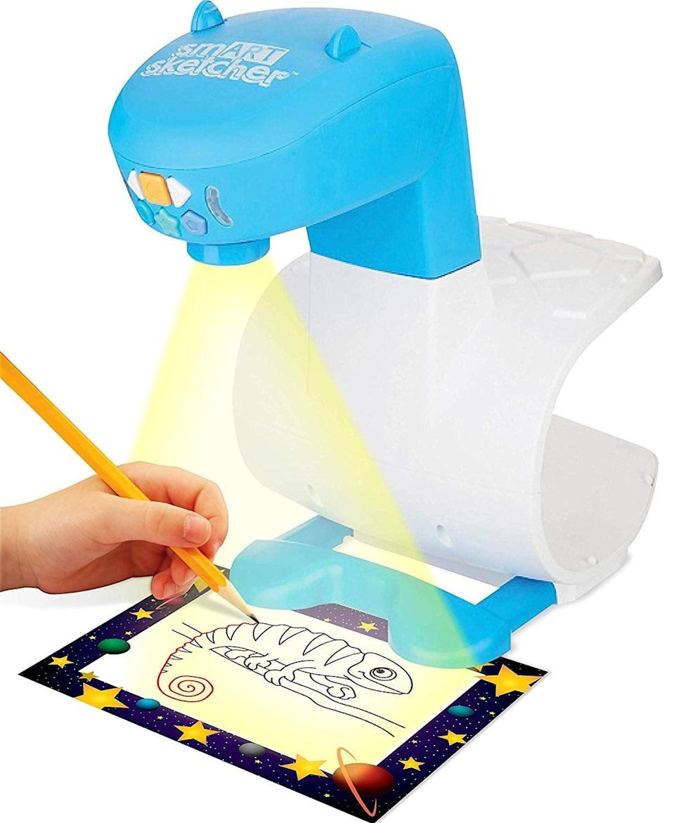 <p>Both kids and adults can improve their skills with this <span>smART Sketcher Learn to Draw</span> ($45).</p>
