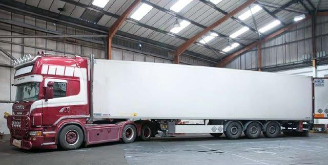 Maurice Robinson's trailer and tractor unit (Essex Police/PA)