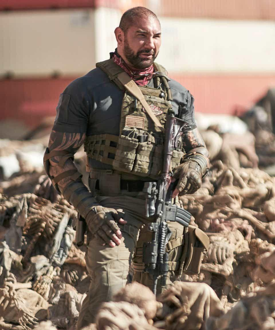 """<p>If you're in the mood for a zombie flick, queue up this Zack Snyder-directed action movie about a group of mercenaries that fights off the undead while attempting to pull off a dangerous heist.</p><p><a class=""""link rapid-noclick-resp"""" href=""""https://www.netflix.com/title/81046394"""" rel=""""nofollow noopener"""" target=""""_blank"""" data-ylk=""""slk:STREAM NOW"""">STREAM NOW</a></p>"""