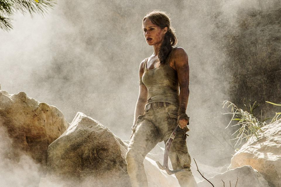 Here's our first look at Alicia Vikander in Tomb Raider