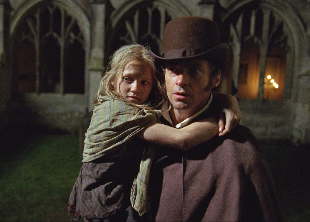 "Isabelle Allen and Hugh Jackman in Universal Pictures' ""Les Miserables"" - 2012"