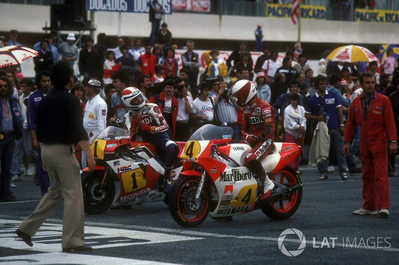 "1984 - Eddie Lawson, Yamaha<span class=""copyright"">Gold and Goose / Motorsport Images</span>"