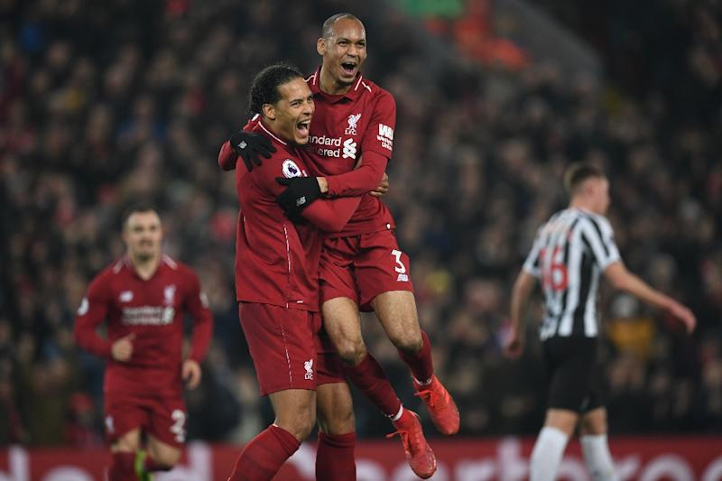 check out 954fd e60f1 Flexible Fabinho eases burden on Liverpool's injury-hit defence