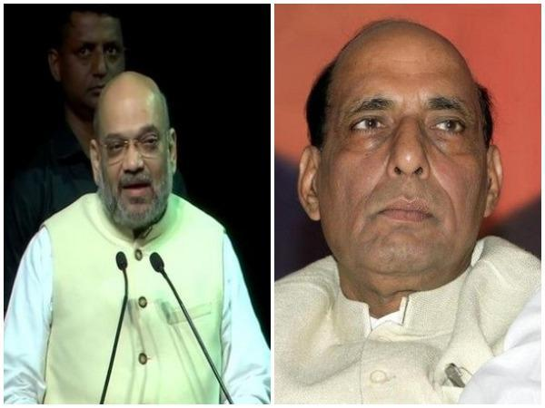 Union Home Minister Amit Shah and Defence Minister Rajnath Singh.