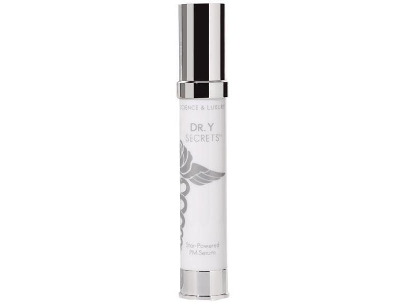 """<p>""""I'm a huge fan of Dr. Y's new line of products, Dr. Y Secret but my favorite by far is the Star Powered PM Serum. It contains retinol to stimulate collagen and leaves my skin moisturized and tightened by the morning. I recommend the line to everyone!"""" -Selene Milano, Senior Beauty Editor</p><p>Buy it <a href=""""http://www.drysecrets.com/shop/star-powered-pm-serum"""" rel=""""nofollow noopener"""" target=""""_blank"""" data-ylk=""""slk:here"""" class=""""link rapid-noclick-resp"""">here</a> for $90.</p>"""