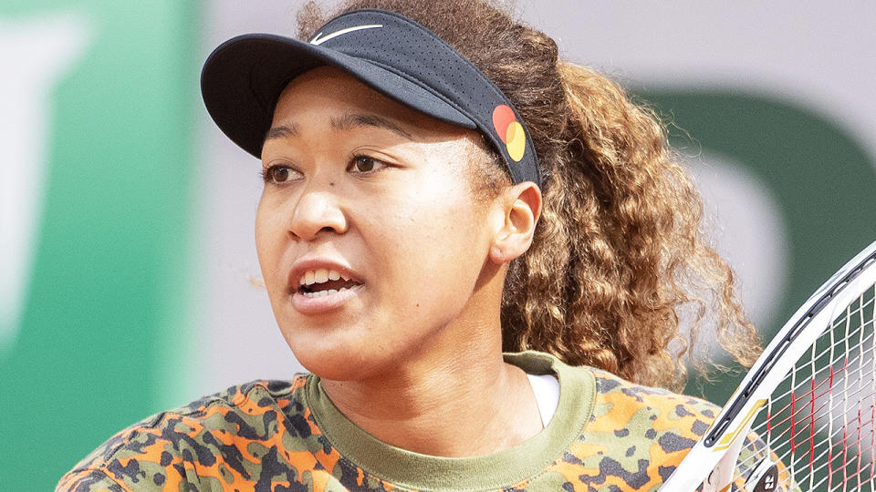 Naomi Osaka has pulled out of the German Open, one of the main lead-in grasscourt tournaments for Wimbledon. (Photo by Tim Clayton/Corbis via Getty Images)