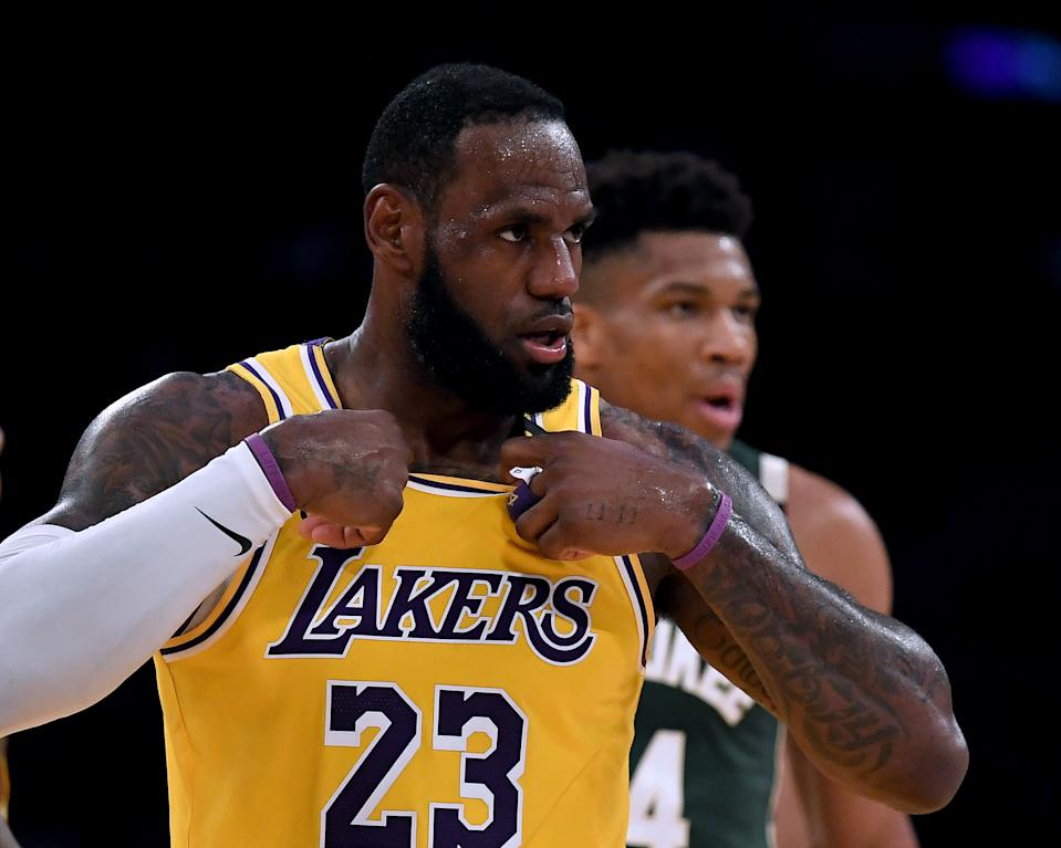 Giannis Antetokounmpo wants to do for the Bucks what LeBron James did for the Heat in his last MVP season. (Harry How/Getty Images)