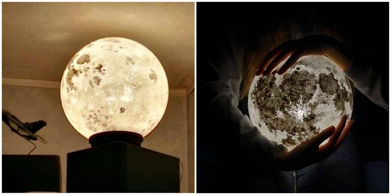moon light for bedroom these amazing lamps bring a moon into your bedroom 16471