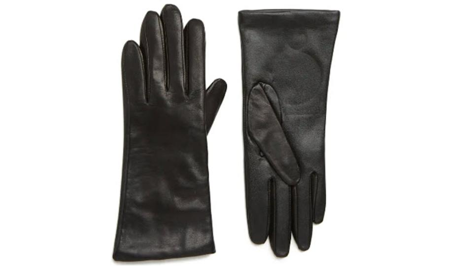 Nordstrom Cashmere Lined Leather Touchscreen Gloves - Nordstrom, $59 (originally $99)